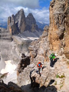 Via Ferrata week in the Tre Cime area
