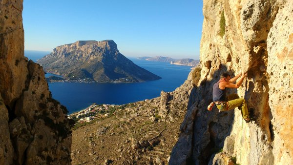 Sports climbing in Kalymnos – Greece